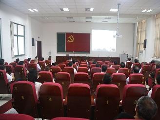 我校组织教职工观看庆祝建党100周年大会盛况